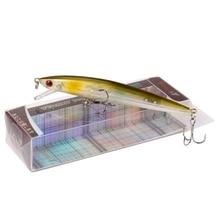 YTQHXY 2017 Good Quality Fishing Lure Floating Minnow Wobbler Professional Baits 110mm 9.2g 6# fishhook Crankbait YE-235Y