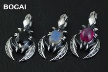 Retro 925 sterling silver fine Thai silver scorpion pendant