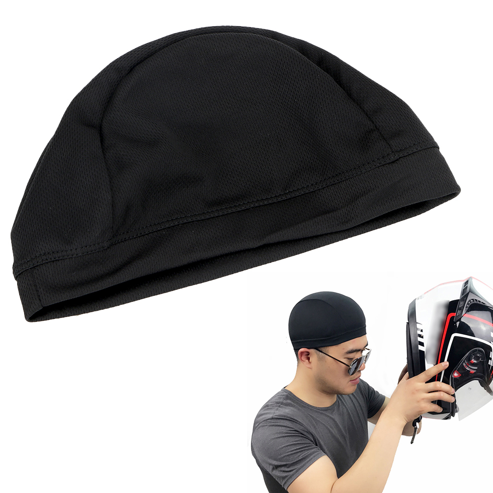 LEEPEE Unisex Motorcycle Helmet Inner Cap  M/L Quick Dry  Racing Cap Under Helmet Breathable Hat