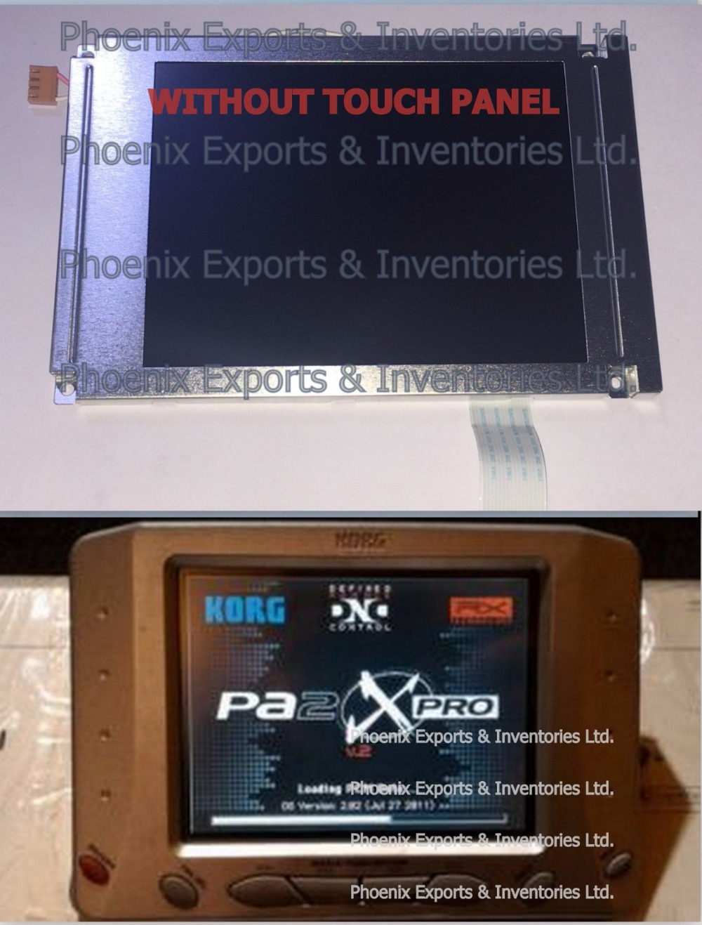 Brand New Korg Display LCD Screen for Korg PA2x Pro 5.7 LCD PA2XPRO Display Screen without Touch Screen