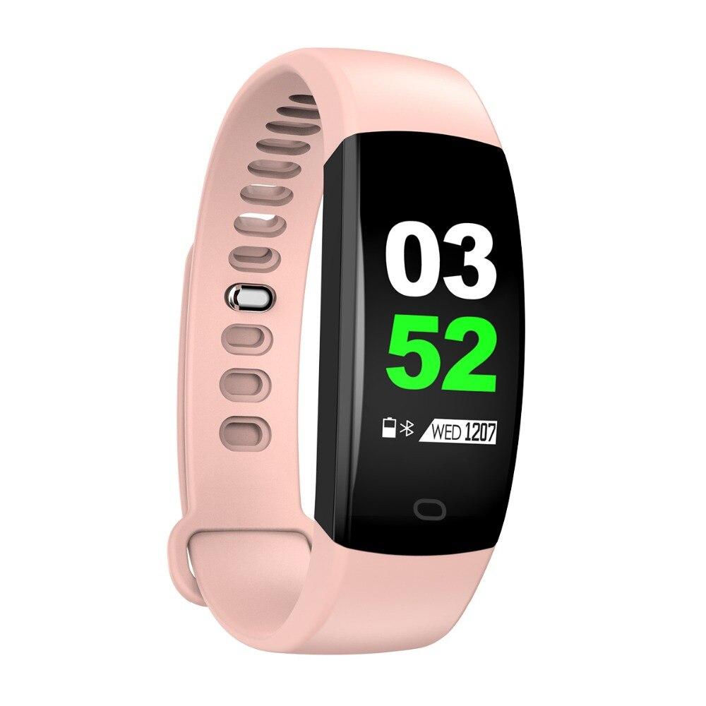 Smart Wristband 2018 Bracelet F64 Smartband gps waterproof sleep monitor Fitness Bracelet Smart Watch Call Alarm For iOS Android (45)