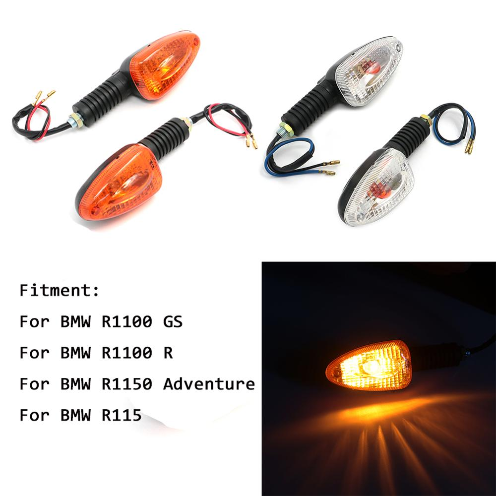 Motorcycle Turn Signal Light Indicator For BMW R1100GS R1100R R1150GS R1150 Adventure ADV R 1100 1150 GS R Front Rear Blinker