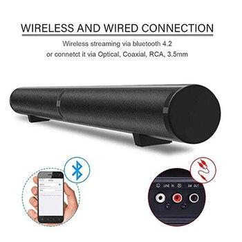 FELYBY LP-1807 Wireless Bluetooth Speaker Soundbar TV home theater Audio speaker Separate column AUX TF Speakers with Microphone