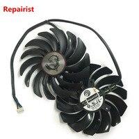 2pcs Lot Gtx1080 Gtx1070 Gtx1060 Gpu Cooler Fans Video Card Fan For MSI GTX 1080 1070