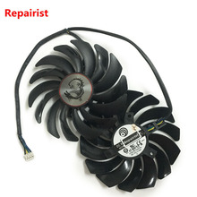 2pcs/lot gtx1080 gtx1070 gtx1060 gpu cooler Fans Video Card fan For MSI GTX 1080/1070/1060 GAMING GPU Graphics Card Cooling