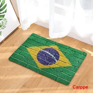 Image 5 - CAMMITEVER tapis antidérapant, pour porte de maison, pour cuisine, pour pied, drapeau américain, angleterre, brésil, à la mode
