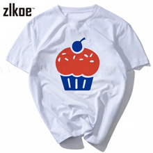 Cupcake T Shirt Newest Fashion KD 35 Sexy All Of The Short Sleeve T-Shirt Print Streetwear Hiphop O-Neck Top Tee