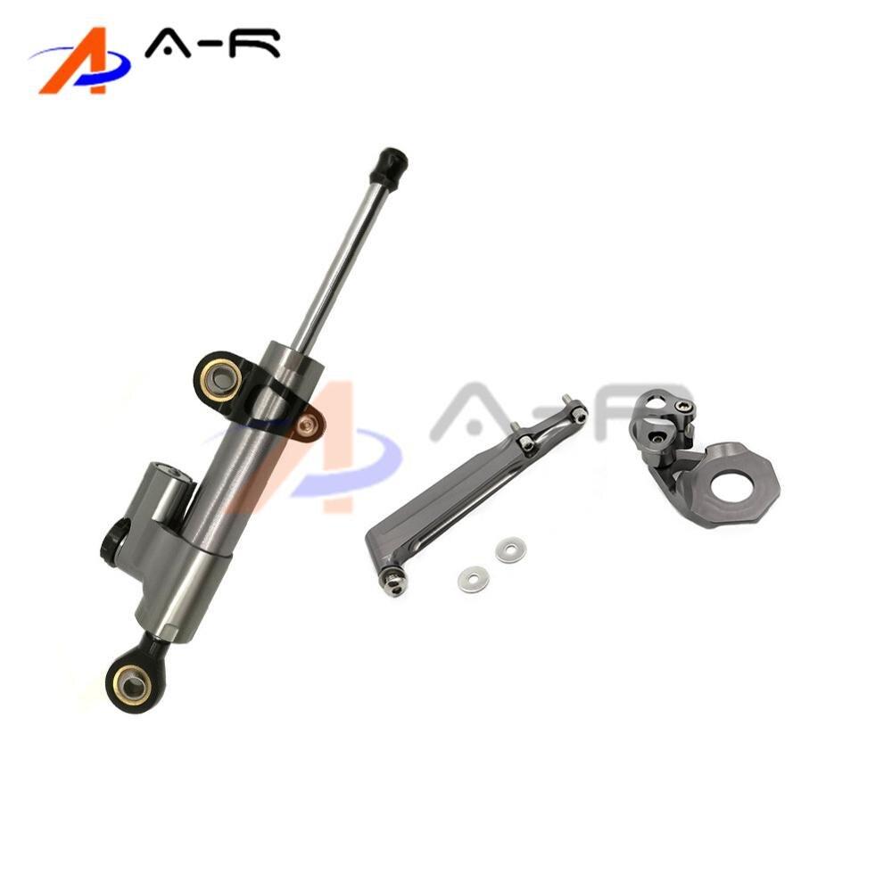 Damper Steering StabilizerLinear Reversed Safety Control Bracket Mounting Support for Honda CBR600RR CBR 600RR 600 RR