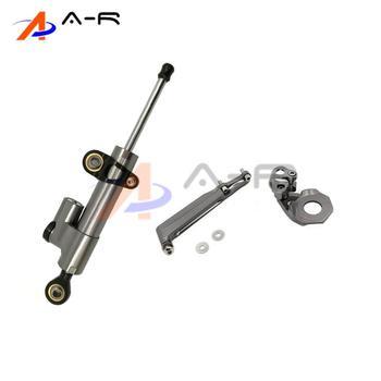 Damper Steering StabilizerLinear Reversed Safety Control Bracket Mounting Support for Honda CBR600RR CBR 600RR 600 RR 2005 2006