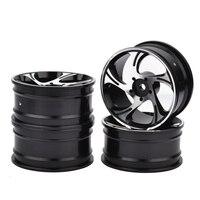 1/10 RC Drift Car Aluminium Alloy Wheel Rims Diameter 52mm for HSP Sakura HPI Kyosho Tamiya RC Car 4pcs