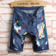 Thintenda 2017 New Fashion Mens Short Jeans Cotton Summer Shorts Thin Breathable Denim Shorts Men Jeans Bermuda Jeans Masculina