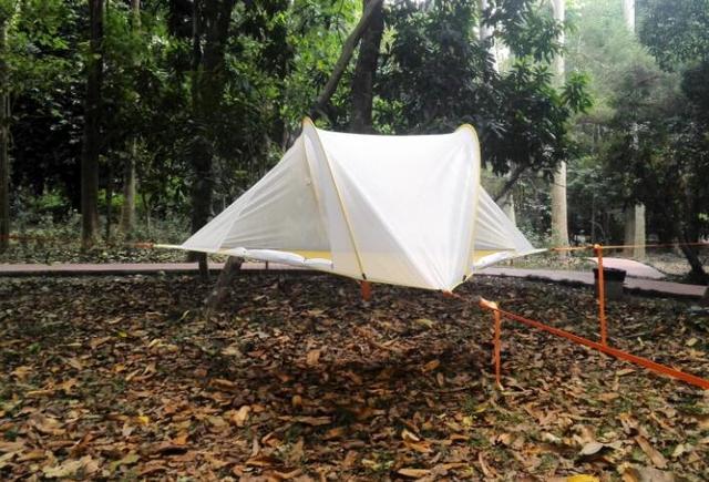 Big triangle Jungle hammock tree tent & Big triangle Jungle hammock tree tent-in Tents from Sports ...