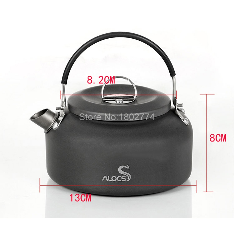 Sports & Entertainment Alocs 1.4l Aluminum Cw-k03 Outdoor Kettle Camping Picnic Water Teapot Coffee Pot Free Shipping