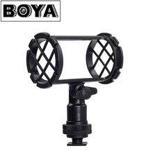 BOYA BY-C04 Cámara Montura Antichoque para Micrófono para AKG D230 Senheisser ME66 Rode NTG-1 NTG-2 Audio-technica AT-875R Sony ECM-CG50