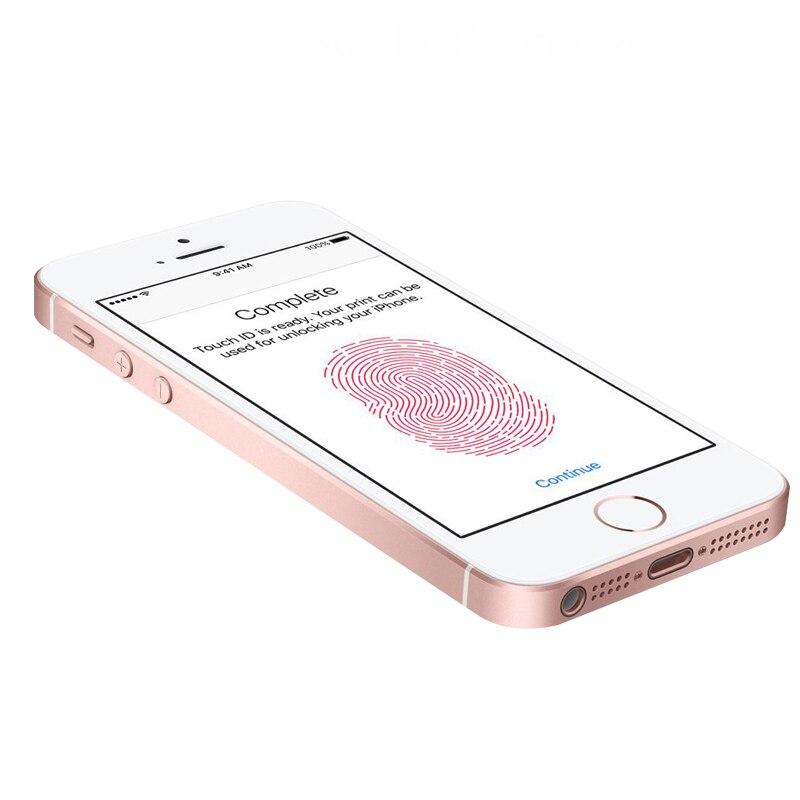 Original Débloqué Apple iphone SE Téléphone Portable 4G LTE 4.0» 2 GO RAM 16/64 GO ROM A9 Dual-core Touch ID Téléphone Portable Utilisé iphone se - 5