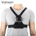 Аксессуары Vamson для Go Pro  эластичный нагрудный ремень для Gopro Hero 8  7  6  5  yi  SJCAM Camera VP204