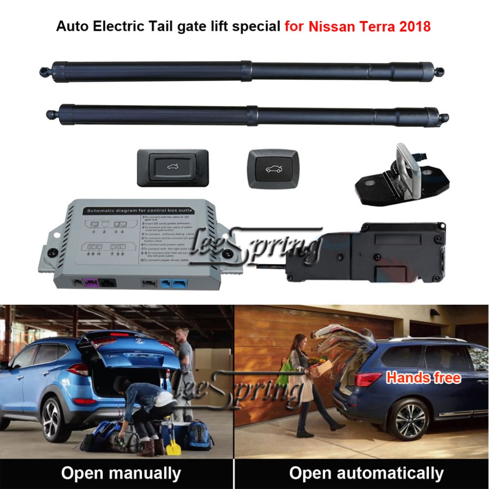 Smart Auto Electric Tail Gate Lift Special For Nissan Terra 2018