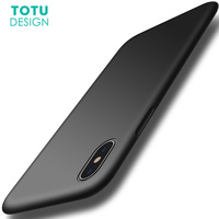 TOTU Liquid Silicone Rubber Case For IPhone X Luxury Coque Ultra Thin Slim Soft TPU Cover