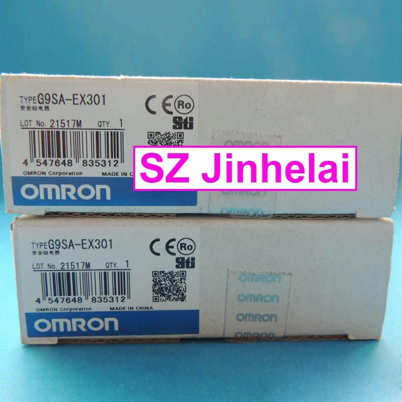 New and original G9SA-EX301 OMRON SAFETY RELAY UNIT new and original g9sa 301 ac dc24v omron safety relay unit