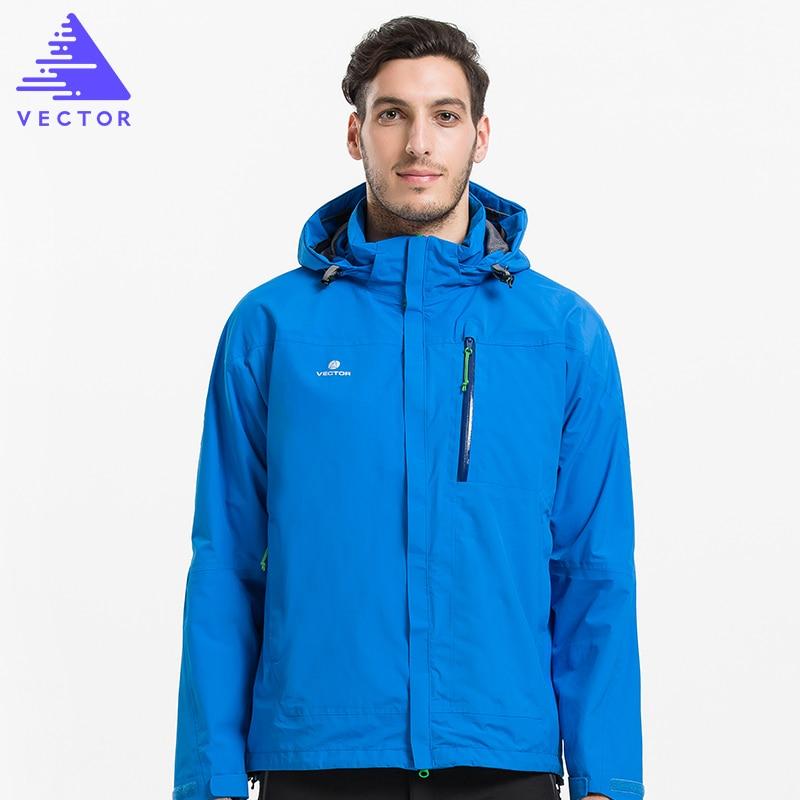 VECTOR Softshell Jacket Men Windproof Waterproof Outdoor Jacket Male Thermal Winter Hiking Jackets Windstopper Windbreaker 60023
