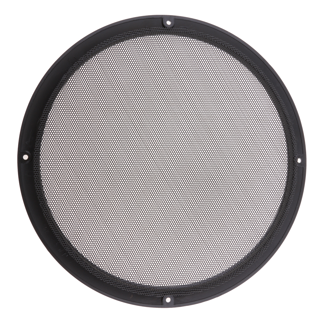 10 inch Black Color Mesh Speaker Decorative Circle Subwoofer Grill Cover Guard Protector with Screw in Car Stickers from Automobiles Motorcycles