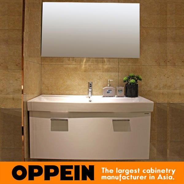 Moderne Einfaches Badezimmer Design Weiße Wasserdichte Schrank Für ...
