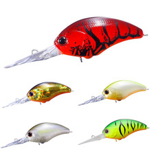 Купить с кэшбэком Fishing Lures 5cm 12.8g Floating Isca Artificial Japan Hard Bait Bass Fish Tools Pesca Wobblers Crankbait Carp Fishing Tackle