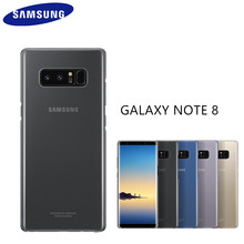 100% Original Genuine Clear Cover Ultra thin Transparent Hard Back Case COVER For Samsung Galaxy Note 8 N9500 N950F EF-QN950C
