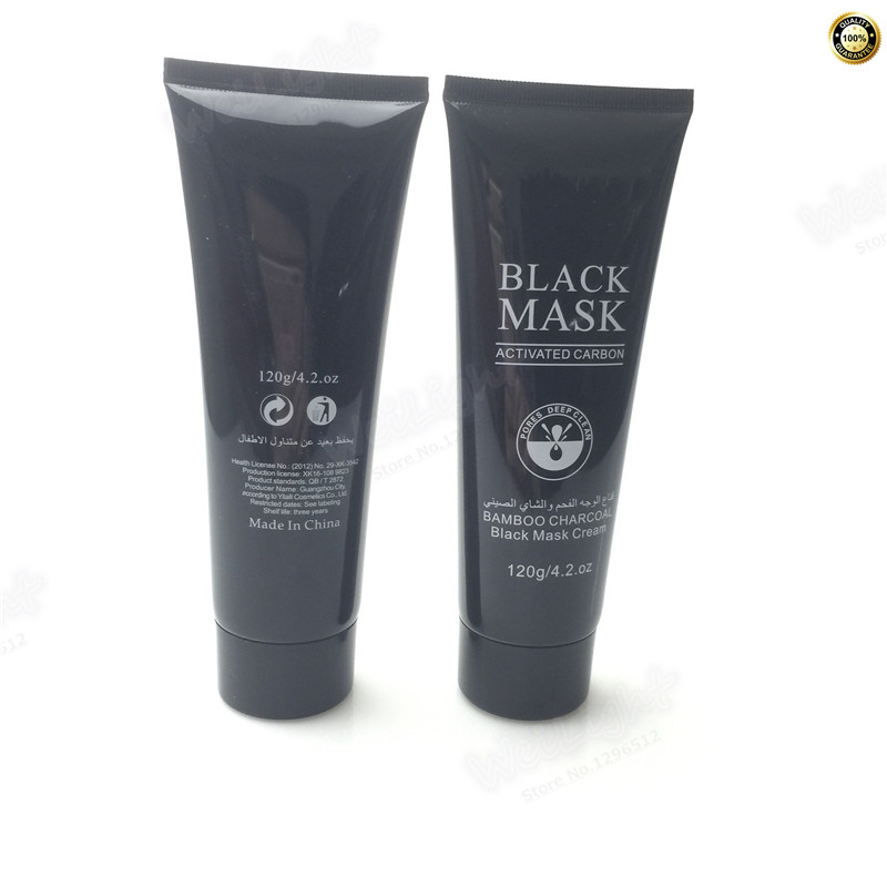 Chinese Herbal skin Care whitening Suction Black Mask Facial Mask Nose Blackhead Remover Peeling Black Head anti Acne Treatments
