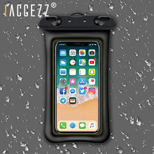!ACCEZZ Waterproof Phone Pouch For iPhone XR XS MAX X 8 Plus Swimming Bag Xiaomi 5 6 Huawei Cell Capa
