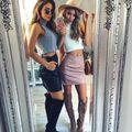 2016 Nuevas Mujeres de Cuero de LA PU Falda Sexy Mini Falda Negro Raja Del Lado Pink Faldas Mujeres Faldas Mini Falda Lápiz Saia