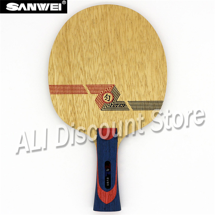 Sanwei WHITE EVEN  Table Tennis Blade (10+9 Soft Carbon, For 40+) Racket Ping Pong Bat Paddle