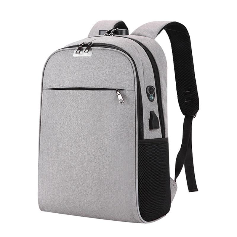 Benviche Usb Lade Laptop Rucksack 15,6 Zoll Anti Theft Frauen Männer Schule Taschen Für Teenager Mädchen College Reise Rucksack Nylon Gepäck & Taschen Rucksäcke