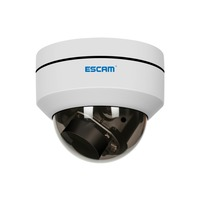 ESCAM PVR002 2MP HD 1080P PTZ 4X Zoom 2.8 12mm Lens Waterproof POE Dome Wifi IP Camera Support Day/Night CCTV Camera CMS viewing