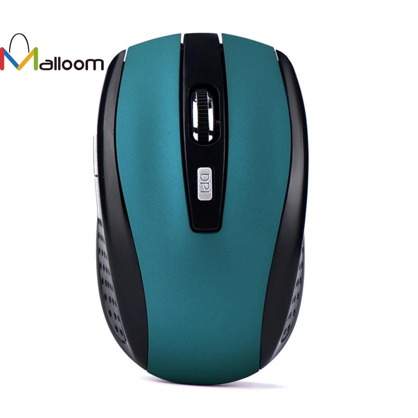 Malloom 2.4GHz Computer Mouse Wireless Gaming Mouse USB Receiver Wireless Optical Mouse