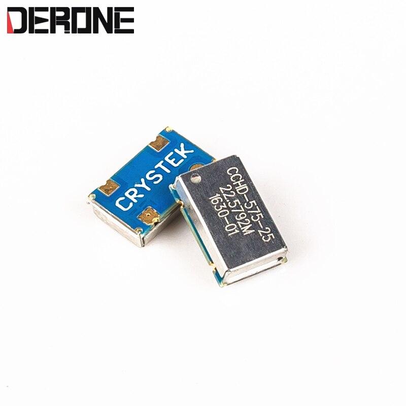 1 peça Crystek Corporação Ultra Baixo Ruído de Fase do Oscilador 22.5792MH/24.576 MHz/100.000 MHz para XOMS|Circuitos| |  -