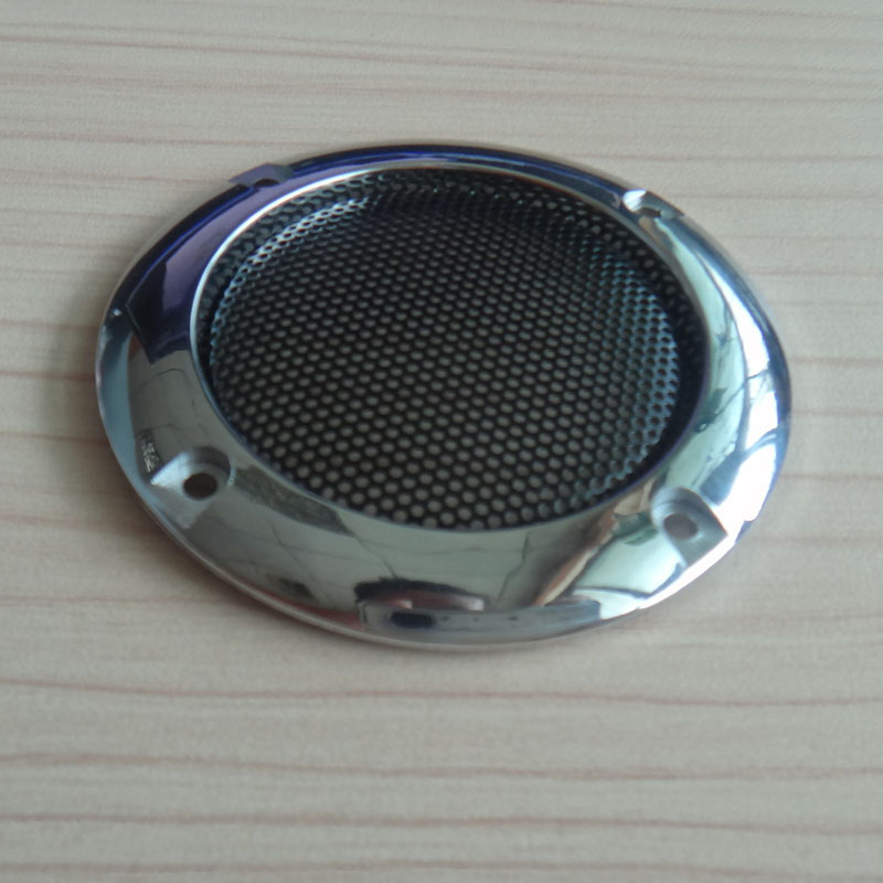 LEORY 2pcs 4pcs 8pcs 2 inch Tweeter Audio Speaker Cover Circle 66mm Decorative Mesh Grille Covers Trim for Universal Cars