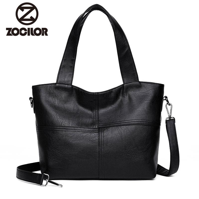 2018 Fashion New women bag High quality pu leather women handbag Pu Leather Women Shoulder Bags Famous Designer