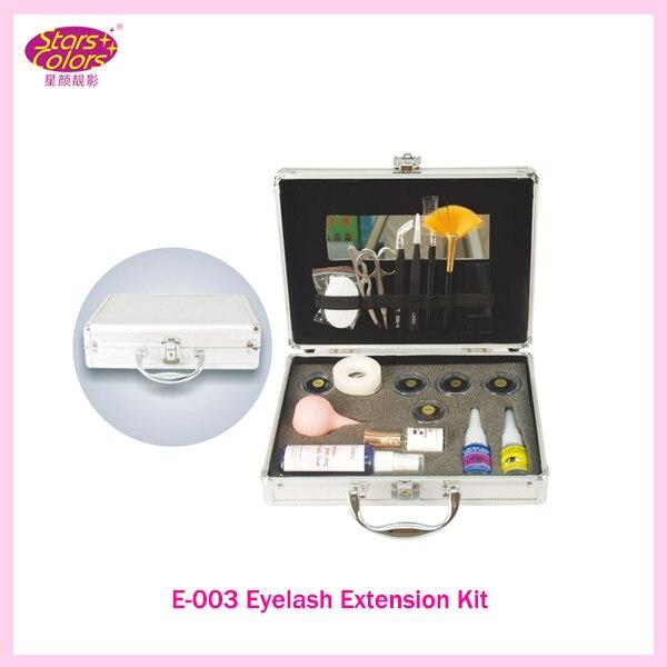 2017 Single Layer Diamond Grafting Excellent False Eye Lash Eyelash Extension Kit Full Set with Case For Make-up Free shippung