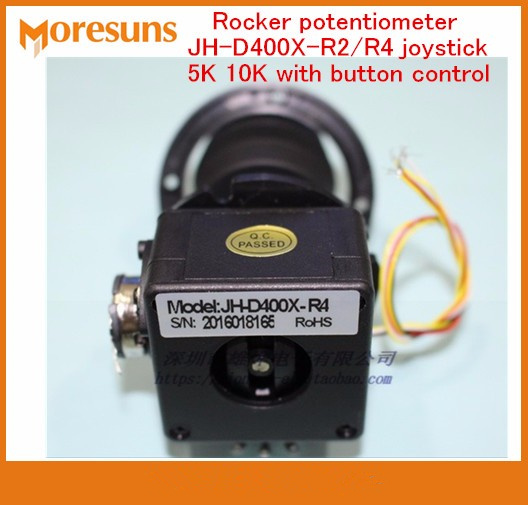Humble Free Ship Rocker Potentiometer Jh-d400x-r2/r4 Four-dimensional Seal Resistance 5k 10k With Button Control Joystick Non-Ironing