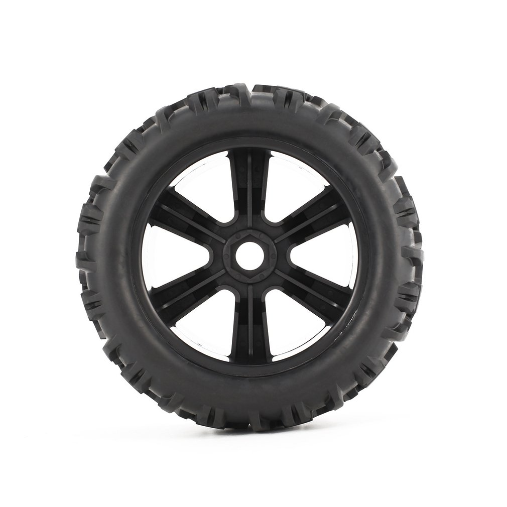 Image 5 - 4Pcs 150mm Wheel Rim and Tires for 1/8 Monster Truck Traxxas HSP HPI E MAXX Savage Flux Racing RC Car Model Toys Hobby Parts-in Parts & Accessories from Toys & Hobbies