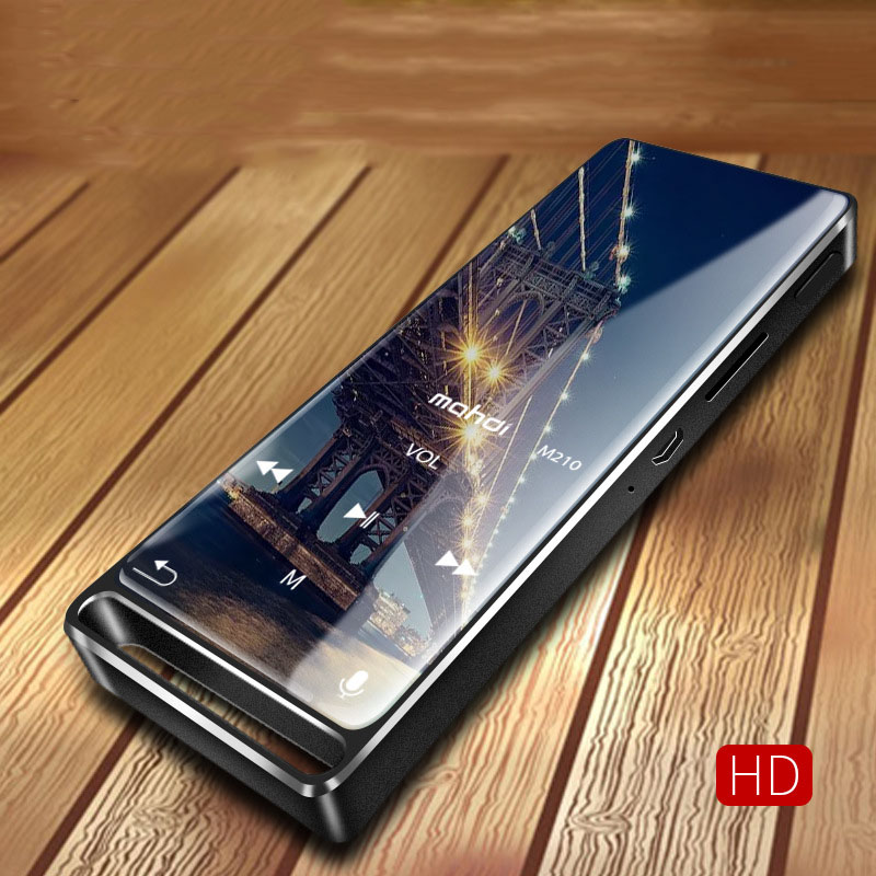 Mahdi M210 8G 16G Bluetooth MP3 Player Thin Music Player Sport Portable Lossless HiFi TFT 1.8 inch Screen FM Radio Recording