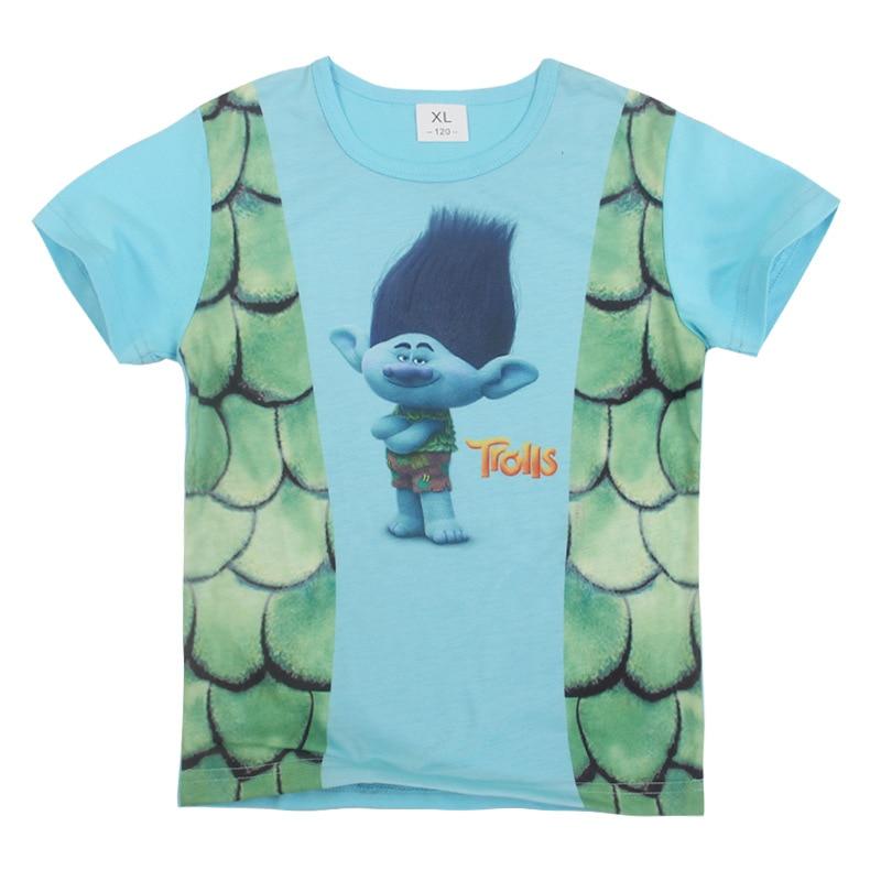 2-8år 2019 Sommartoppar Ben 10 Kostymer Pojkar T-shirt Korta ärmar - Barnkläder - Foto 3
