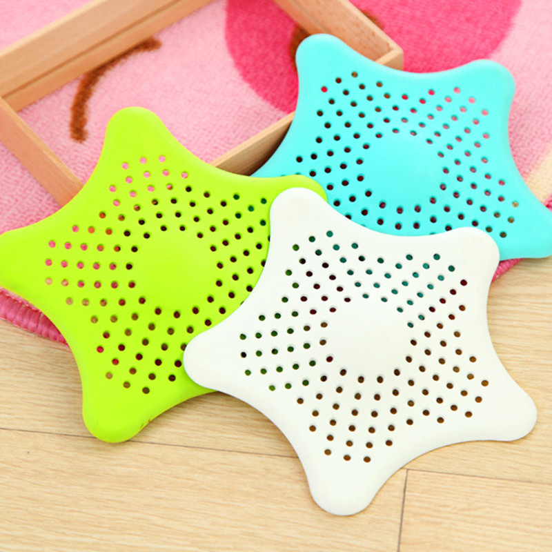 1PC Sewer Outfall Strainer Sink Filter Anti-blocking Floor Drain Hair Stopper Catcher Kitchen Accessories Bathroom Mat Products