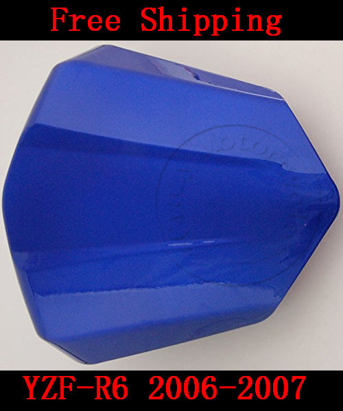 For Yamaha YZF 600 R6 2006-2007 motorbike seat cover High quality Motorcycle Blue fairing rear sear cowl cover