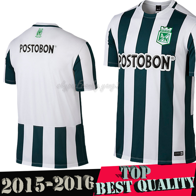 Colombia 2015 Atletico Nacional Medellin Home Jersey P.VELAZQUEZ Best thai  quality 15 16 Nacional Medellin Soccer Jersey Camisa b53e395c3