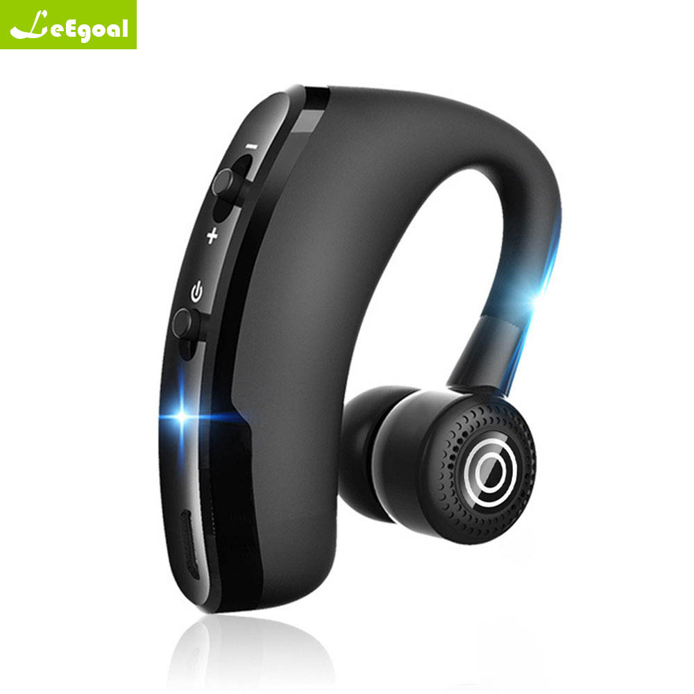 New V8 Business Bluetooth Headset Handsfree Wireless: Leego NEW V9 Handsfree Business Bluetooth Headphone With