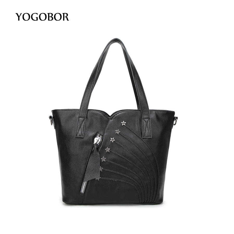 Fashion Women PU Leather Handbags Black Messenger Shoulder Crossbody Bag Ladies Shopping Hand Bags for girls bolso mujer tote 111