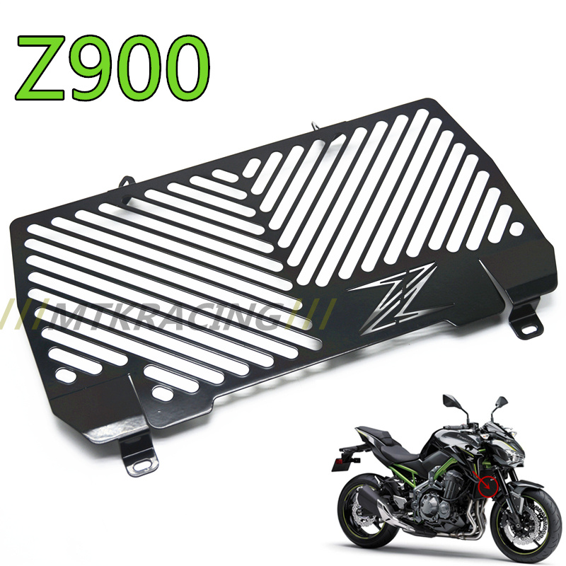 Free delivery Motorcycle radiator grille guard protection For Kawasaki Z900 Z 900 z900 2017 for kawasaki z900 2017 radiator guard grill protection for kawasaki z 900 2017 motorcycle parts accessories free shipping