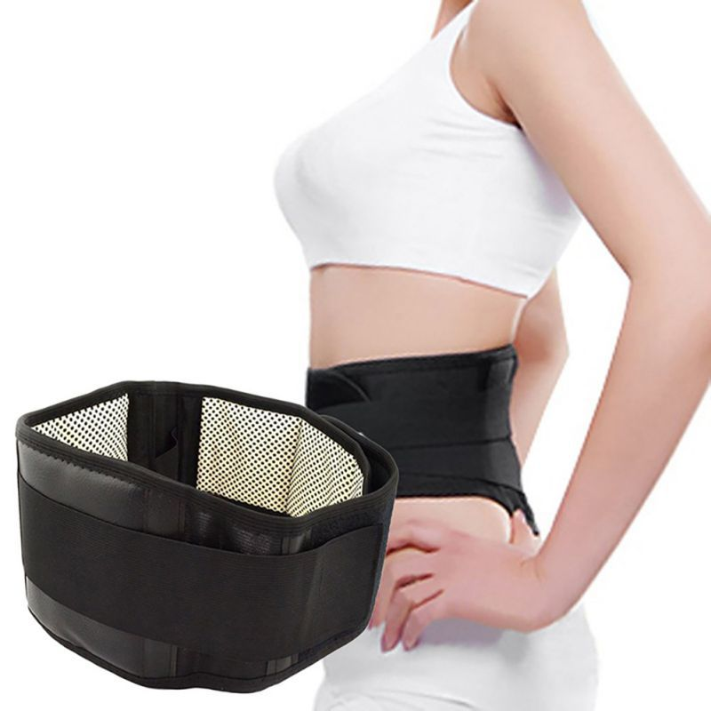 Waist Support Belt Adjustable Safe Self-heating (Magnetic) Lumbar Brace Warmer Relieving Tool Dropshipping